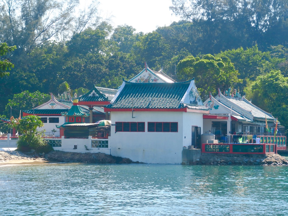 Chinese temple at Kusu Island |curlytraveller.com