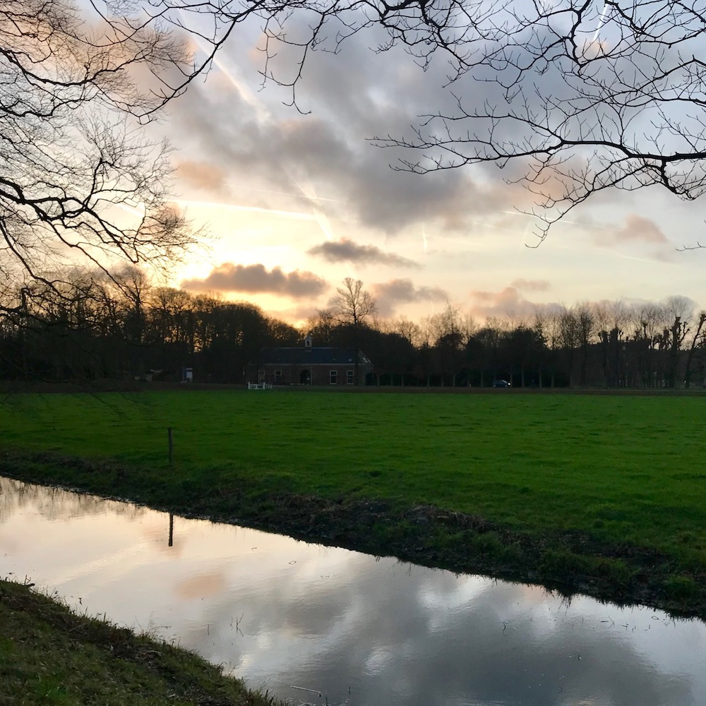 Pastoral sunset scenery in the Netherlands |curlytraveller.com