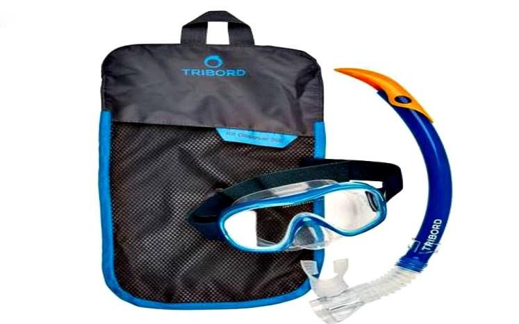 15. zestaw do snorkelingu maska i fajka