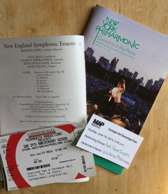 Carnegie Hall; New York Philharmonic
