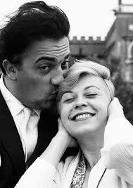 Federico Fellini & Giulietta Masina - muse