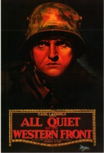 first world war all quiet on the western front