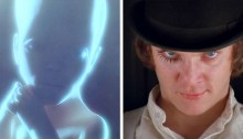 2001 A Space Odyssey A Clockwork Orange
