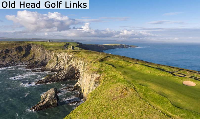 Hyperlink to the Old Head Golf Links web page