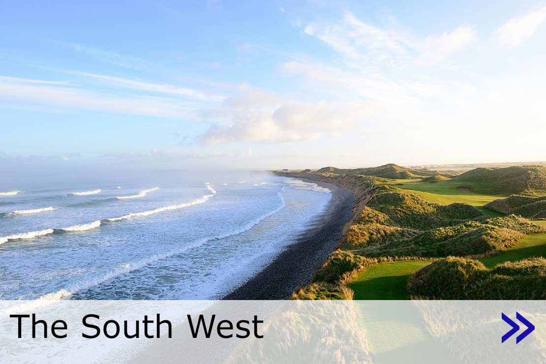 Hyperlink to the South West travel web page