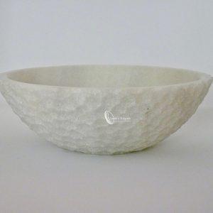 Plato de mármol hondo modelo giove