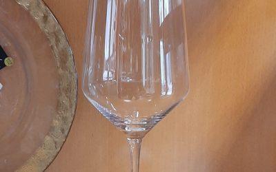 Copa cristal pura 28 x 7,1 cm.