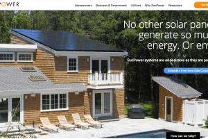 renewable energy web design