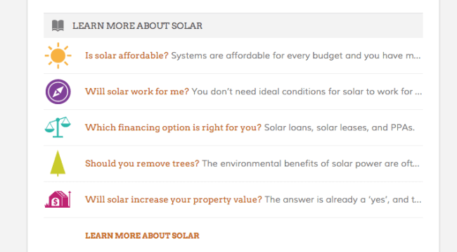 solar lead generation vendor
