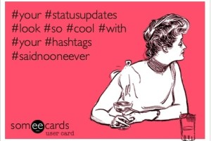 A Rant Against Inventing Long Hashtags