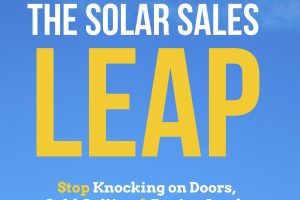 Solar Sales Leap book