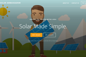 The Solar Ambassador homepage
