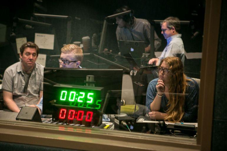 Inside the Texas Standard studios. (Photo: KUT)