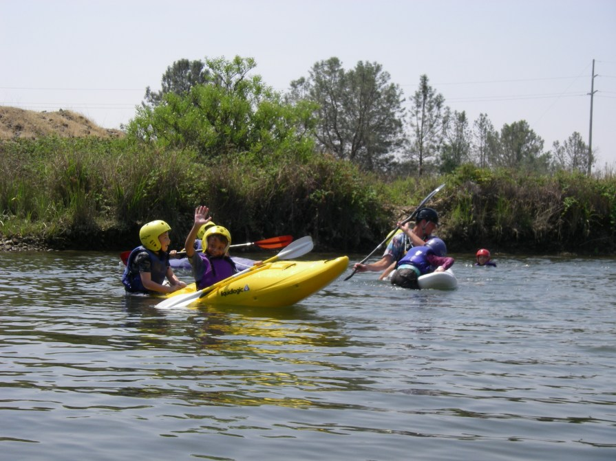 kids kayak classes with Current Adventures