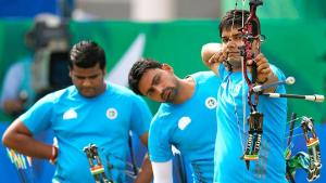 Indian archers win team gold at World Cup in Shanghai