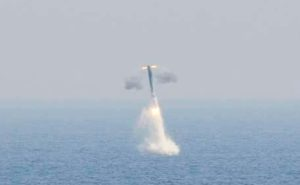 Russian Navy test- fires submarine- launched missile