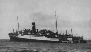 SS Athenia, first British ship lost in World War II discovered in UK