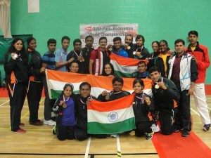 India wins 10 medals in Para-Badminton World Championships