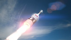 NASA reveals 'last hope' emergency abort test in 2019 for the Orion capsule that could take man to the moon and Mars