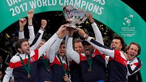 France beat Belgium to claim its 10th Davis Cup (tennis)