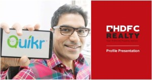 Quikr Acquires HDFC's Digital, Realty Units in all Stock Deal