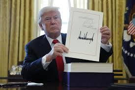 US President Signs $1.5 Trillion Tax Overhaul Law