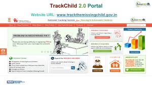 Online Tracking System/Portals for Missing Children