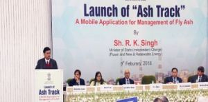 RK Singh Launches ASH TRACK Mobile App for Better Management of Fly Aash