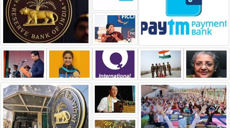 Current Affairs Today – March, 8th, 2018 | Latest News and Updates