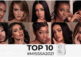 Miss South Africa 2021 top 10