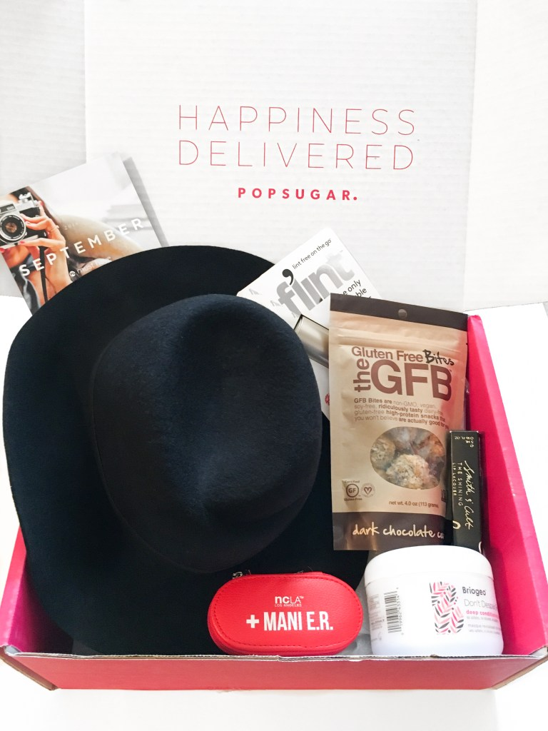 POPSUGAR Must Have Box Review + Coupon – September 2016
