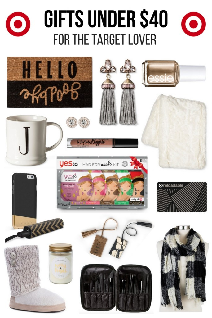 Gifts Under $40 for the Target Lover