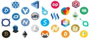 Different Cryptocurrencies