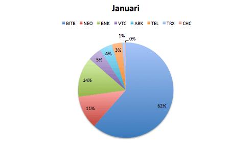 Verdeling Portfolio Januari