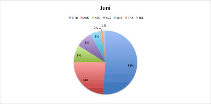 Portfolio indeling juni