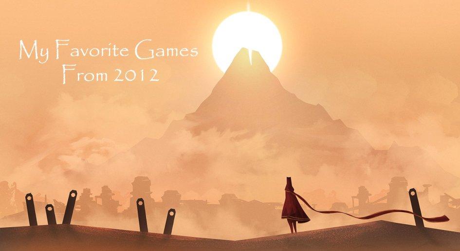 favorite games 2012