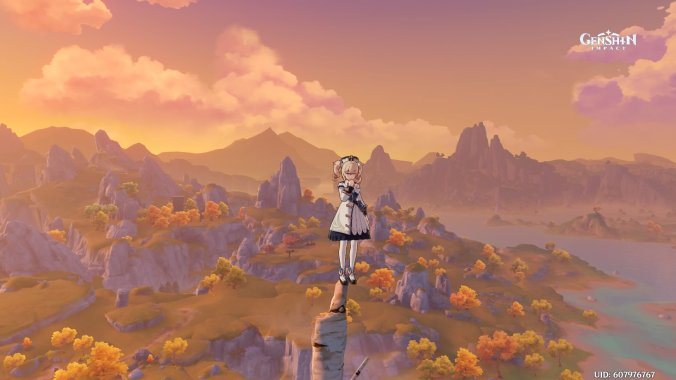 genshin impact beautiful gorgeous wallpaper screenshot screengrab