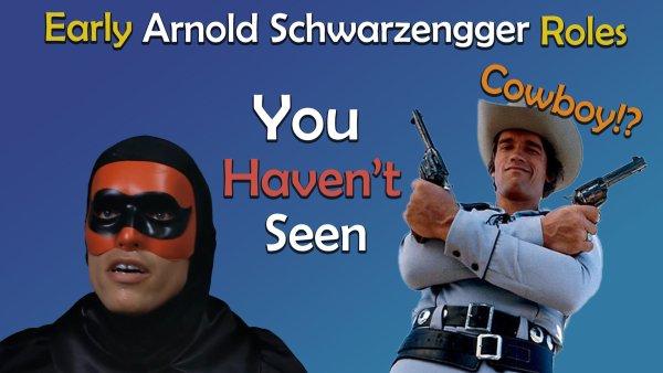 arnold schwarzenegger first roles