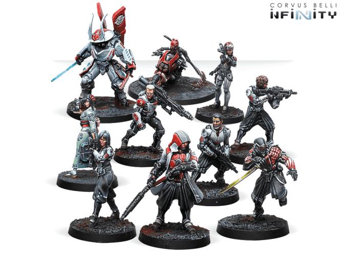 section 9 scifi minis miniatures stargrave