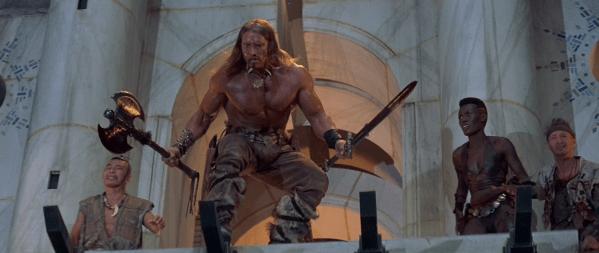 conan the cimmerian axe movie