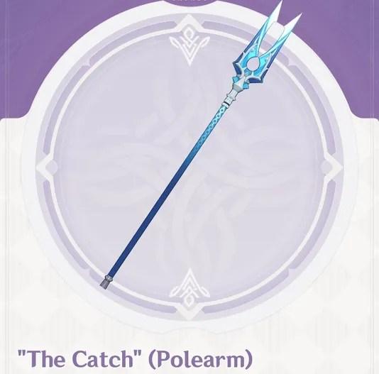 fishing polearm spear genshin impact