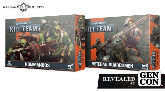 2021 gen con kill team ork kommandos veteran guardsman death korps of krieg box set