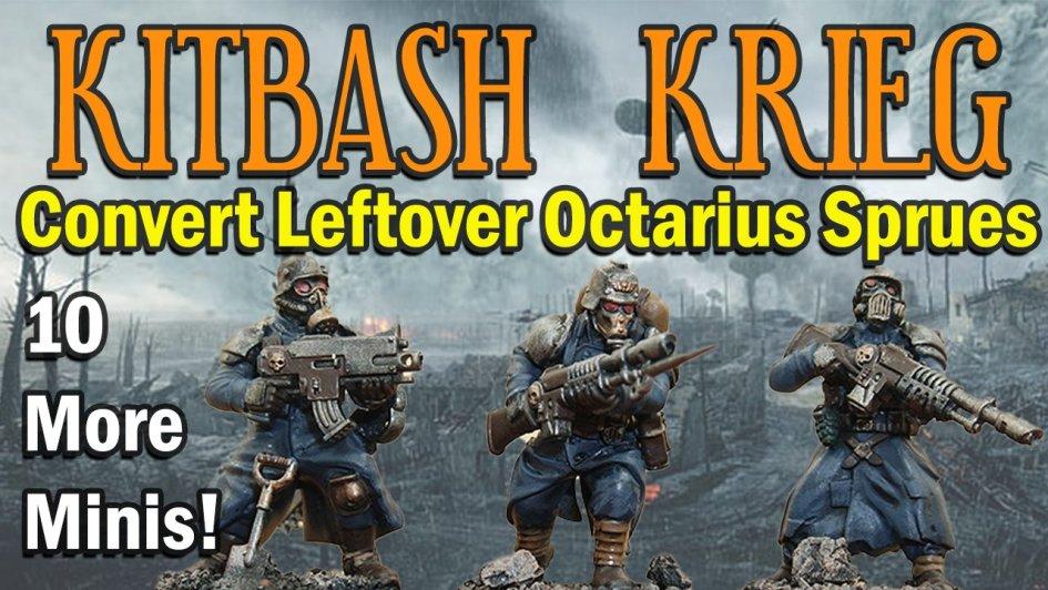 death korps of krieg kitbash conversion octarius