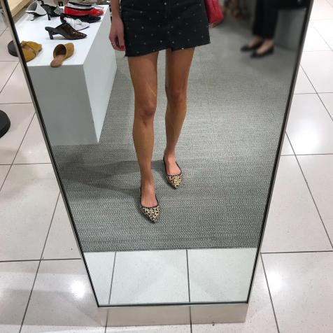 Obsessed with these Sam Edelman Leopard flats. Easy, cute and fun