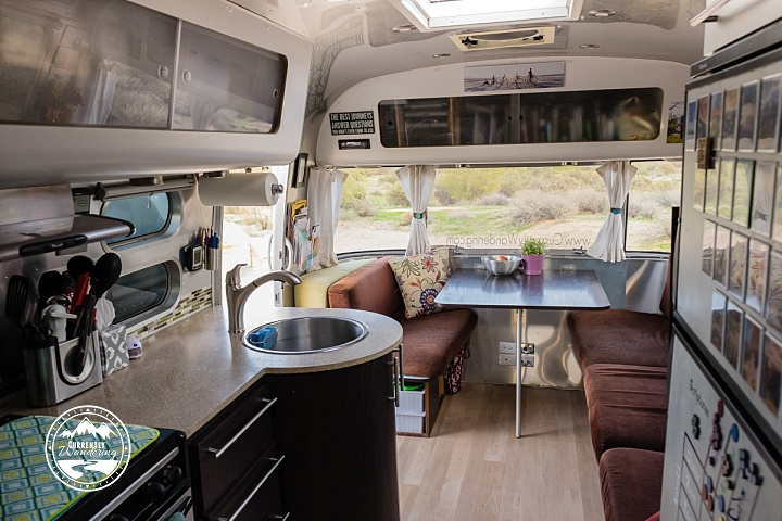 Inside The Airstream Currently Wandering
