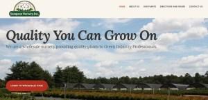 Sampson Nursery WordPress website