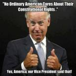 Biden the IGNORANT clown!