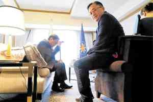 Duterte in pain with Sen Bong Go