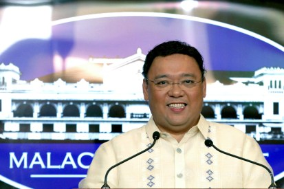 Presidential Spokesperson Atty. Harry Roque, during a press briefing in Malacañang on January 22, 2018 is happy to announce that around 175,000 farmers have benefited from the free crop insurance from the Philippine Crop Insurance Corporation in 2017. The insurance claims, which amounted to P1.7-billion, is 24 percent higher than the P1.5-billion worth of claims paid in 2016. YANCY LIM/PRESIDENTIAL PHOTO