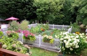 Cottage Vegetable Garden